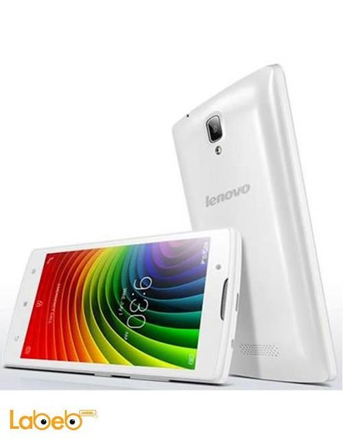 White Lenovo A2010 8GB
