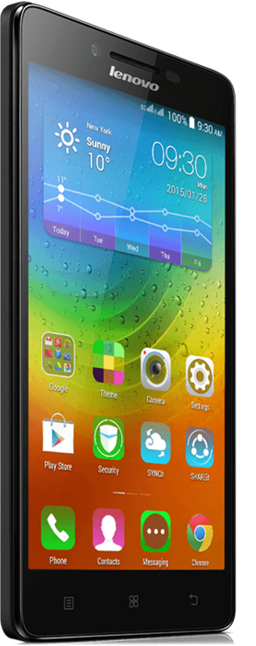 side Lenovo A6000 8GB Black
