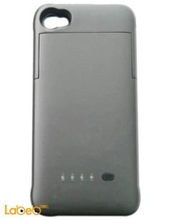 Power bank Iphone 4 & 4S case design - 1900mAh - Grey color