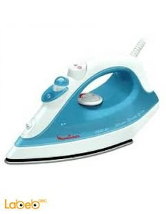 Moulinex steam iron - 1800W Power - Blue color - IM123
