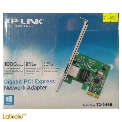 بطاقة شبكة TP-Link سرعة 1000Mbps موديل TG-3468