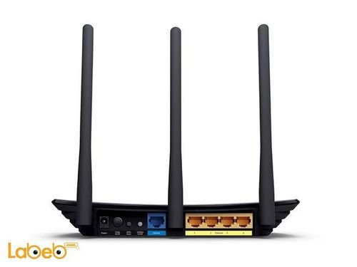 TP-Link 450Mbps Wireless N Router ports TL-WR940N