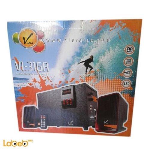مكبر صوت وراديو فيرا 2.1 للكمبيوتر 3300 واط VI-316R