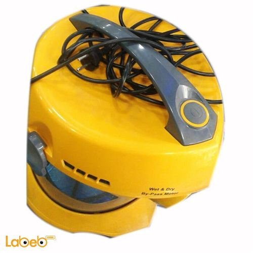 Yellow color Korkmaz Vacuum Cleaner 2200Kw