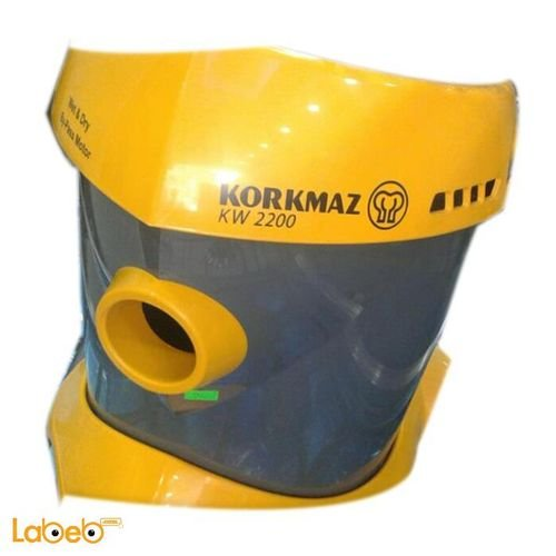 Yellow Korkmaz Vacuum Cleaner 2200Kw