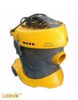 مكنسة كهربائية كوركماز 2200 كيلو واط أصفر
