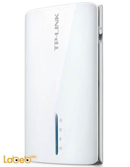 راوتر TP-Link لاسلكي متنقل 3G/4G سعة 2000mAh موديل TL-MR3040
