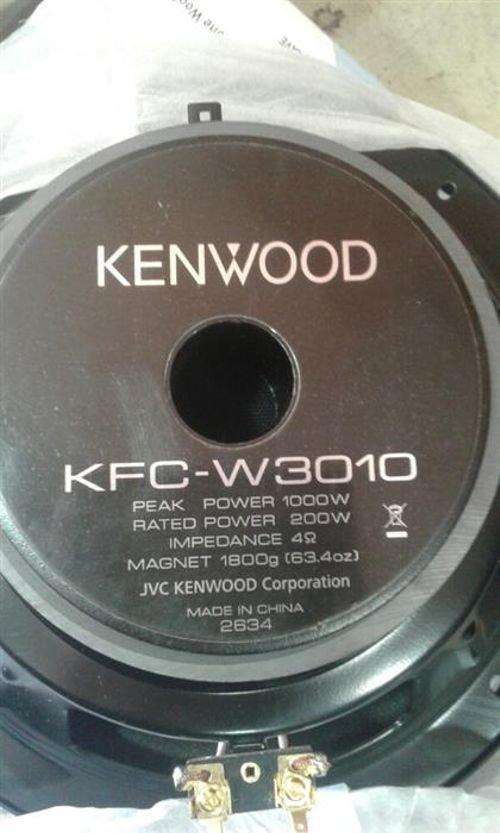 خلفية ووفر كينوود للسيارات KFC-W3010