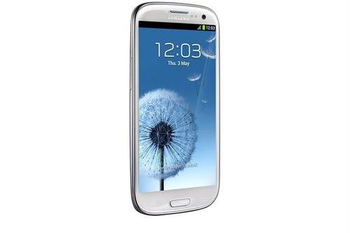 White Samsung S3 neo 16GB camera