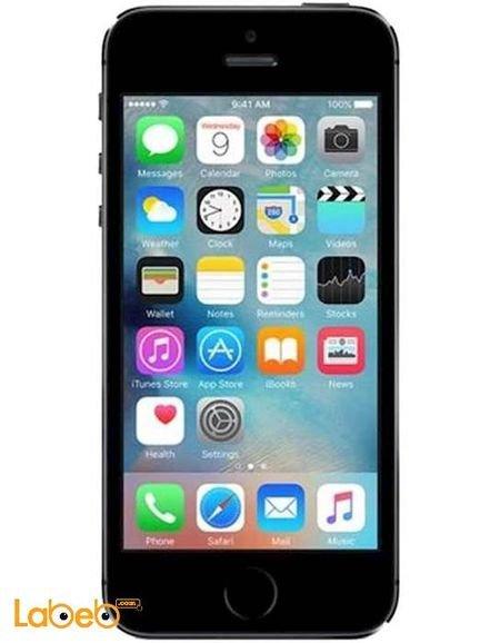 موبايل ابل ايفون 5S ذاكرة 16 جيجابايت لون اسود A1533