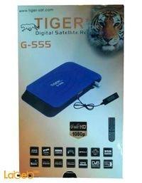 رسيفر تايجر G-555 فل اتش دي 4000 قناة مدخل usb