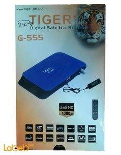 رسيفر تايجر G-555 - فل اتش دي - 4000 قناة - مدخل USB