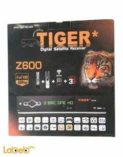 Tiger receiver full HD - WI FI 1080 pixel -2 USB ports -  z600
