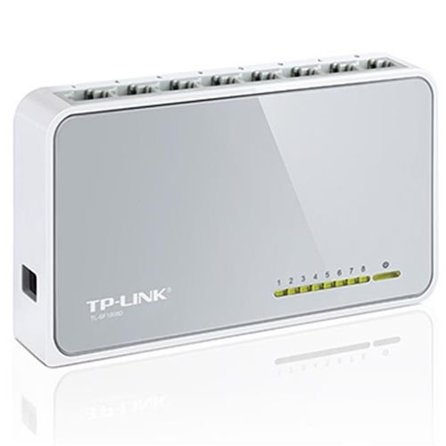 موصل شبكات TP Link مع 8 مخارج 100Mbps موديل TL-SF1008D