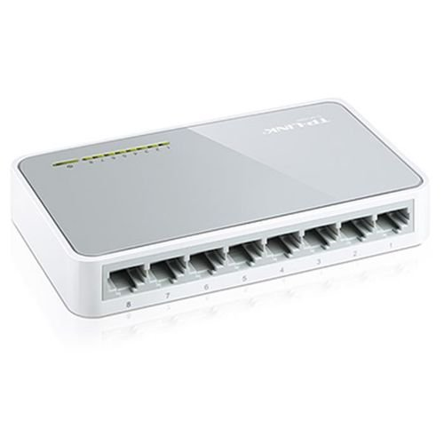 back TP Link 8 port 10/100Mbps TL-SF1008D