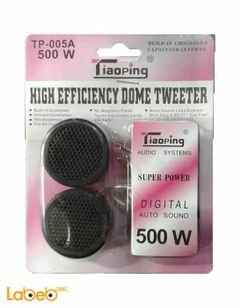 Tiaoping high efficiency dome tweeter - 500W - TP-005A