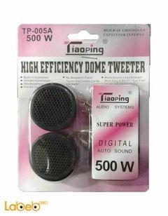سماعات تيوبنج للسيارات - تويتر 500 واط -  Tiaoping TP-005A