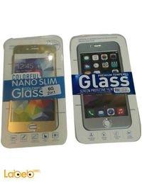 لصقة لحماية شاشة موبايل ايفون 6 9H شفاف اللون