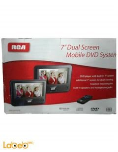 RCA mobile DVD system - dual 7 inch screen - DRC69707E