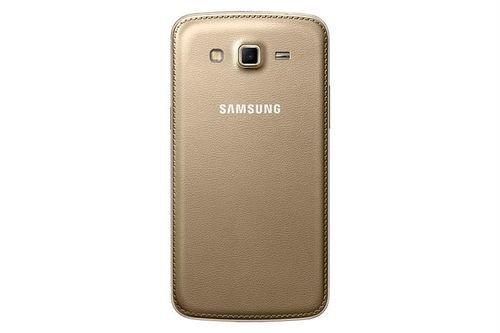 Gold Samsung Galaxy Grand 2 back