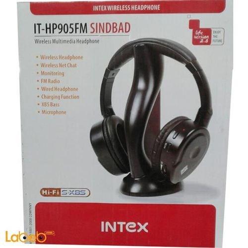 مواصفات سماعات رأس انتيكس IT-HP905FM لاسلكية مع ميكروفون