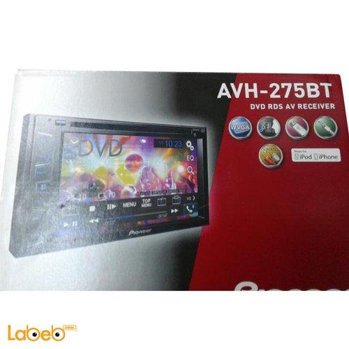 Pioneer AVH-275 BT DVD RDS AV RECEIVER 6.2inch