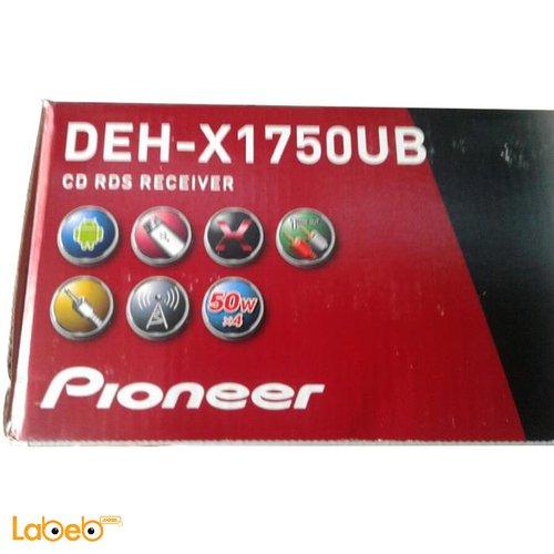 مسجل للسيارة بايونير مشغل أقراص CD ديسك DEH-X1750UB