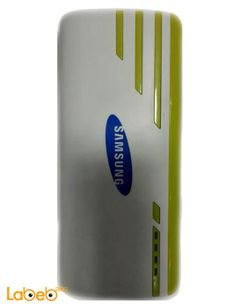 Samsung Power Bank - 20000mAh - white and yellow color