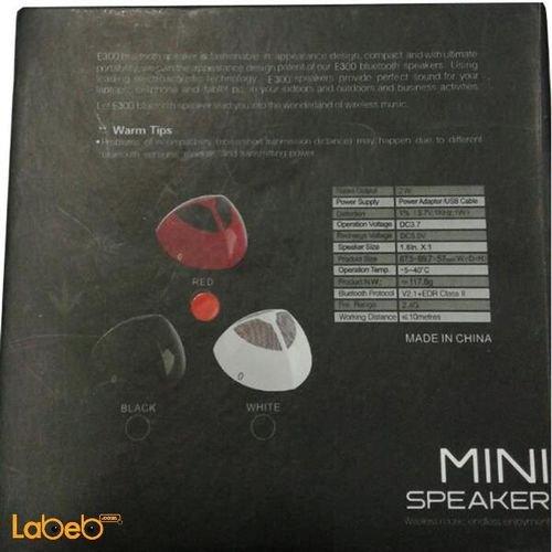 سماعة بلوتوث لاسلكية 720 ميلي امبير E300