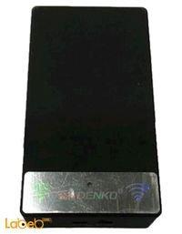 سماعة لاسلكية للموبايل دينكو  800 ميلي أمبير أسود MP-04