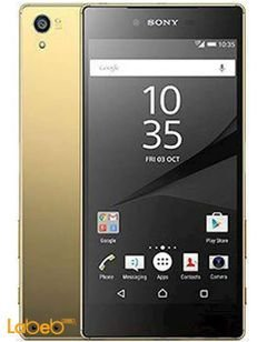 موبايل سوني إكسبيريا Z5 –  ذاكرة 32GB – ذهبي - E6603