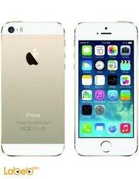 موبايل ابل ايفون 5S لون ذهبي A1533