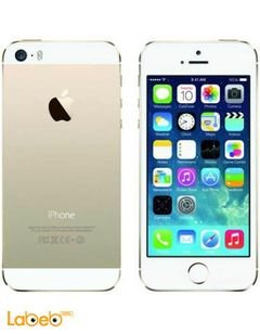موبايل ايفون 5S ابل - ذاكرة 32 جيجابايت - لون ذهبي - iPhone 5S