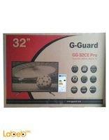 شاشة G-Guard led - حجم 32 انش - اسود - GG-32CE PRO