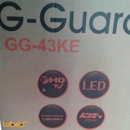 مواصفات شاشة G-Guard led حجم 43 انش اسود
