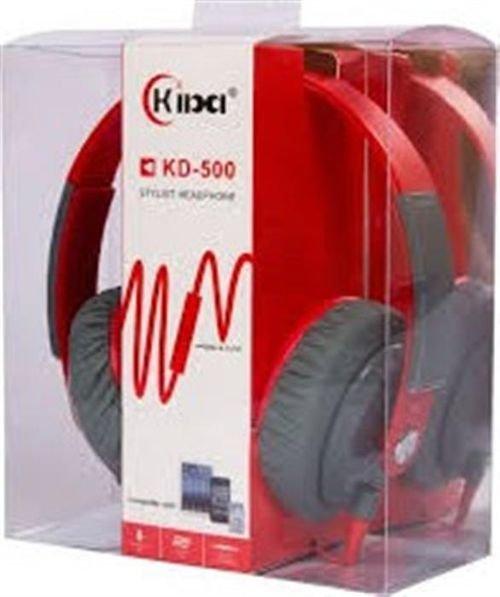 سماعات رأس كيبا احمر KD-500