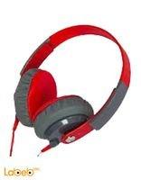 سماعات رأس كيبا صوت قوي احمر KD-500