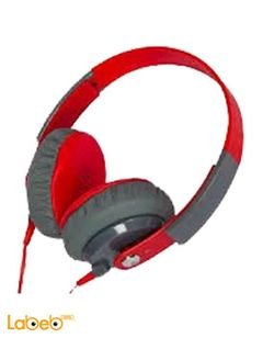 سماعات رأس كيبا - صوت قوي - احمر - جودة عالية جداً - KD-500