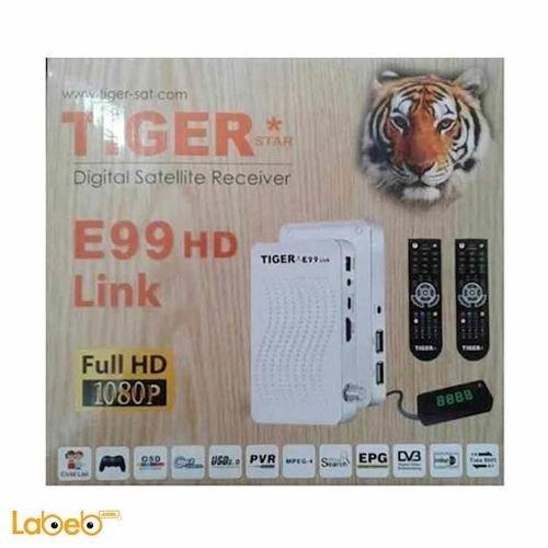 رسيفر تايجر E99 HD Link ابيض
