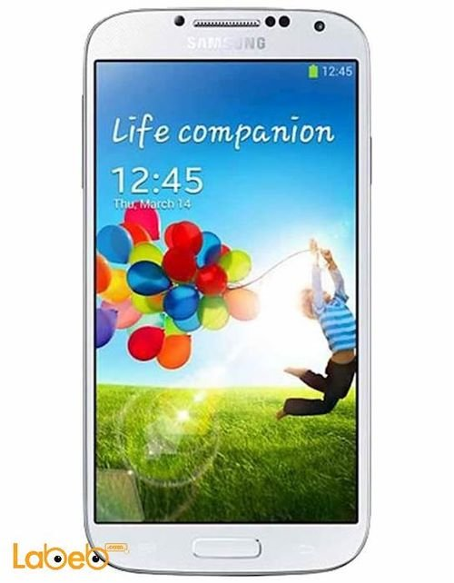 white galaxy S4 smartphone 16GB
