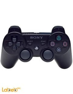 Sony PlayStation 3 DualShock 3 Controller - Rechargeable - Black