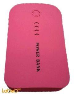 Chinese External Power Bank - capacity 8800mAh - pink color
