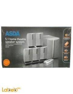 Asda Home theatre speaker system - 40W - Grey - SA51AR