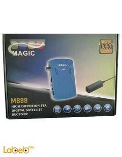 رسيفر ماجيك M888 - مدخل USB - فل اتش دي - 1080 بكسل - واي فاي