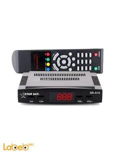 Star Sat Receiver - 4000 channel - black color - SR-A10 super