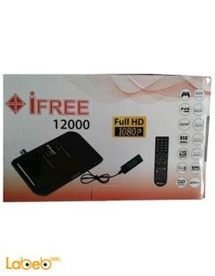 iFree 12000 Digital receiver - 4000 channel - 1080p - USB - black