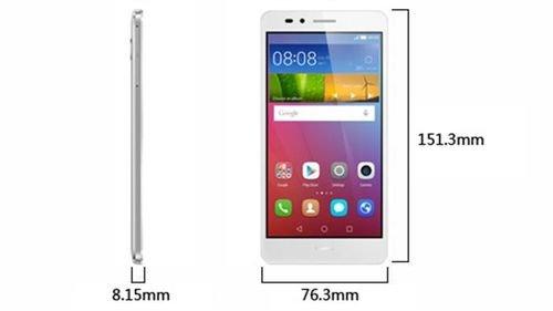 أبعاد موبايل هواوي GR5 أبيض Huawei GR5