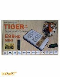 رسيفر تايجر E99 اتش دي ميني دقة 1080 بكسل ابيض E99 HD MINI