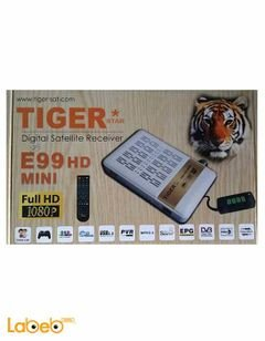 Tiger receiver E99 HD MINI - Full HD - 1080P - white - USB