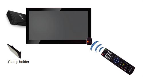 جهاز تحكم رسيفر سترونج 3G دقة 1080 بكسل مدخل usb اسود SRT 4950M